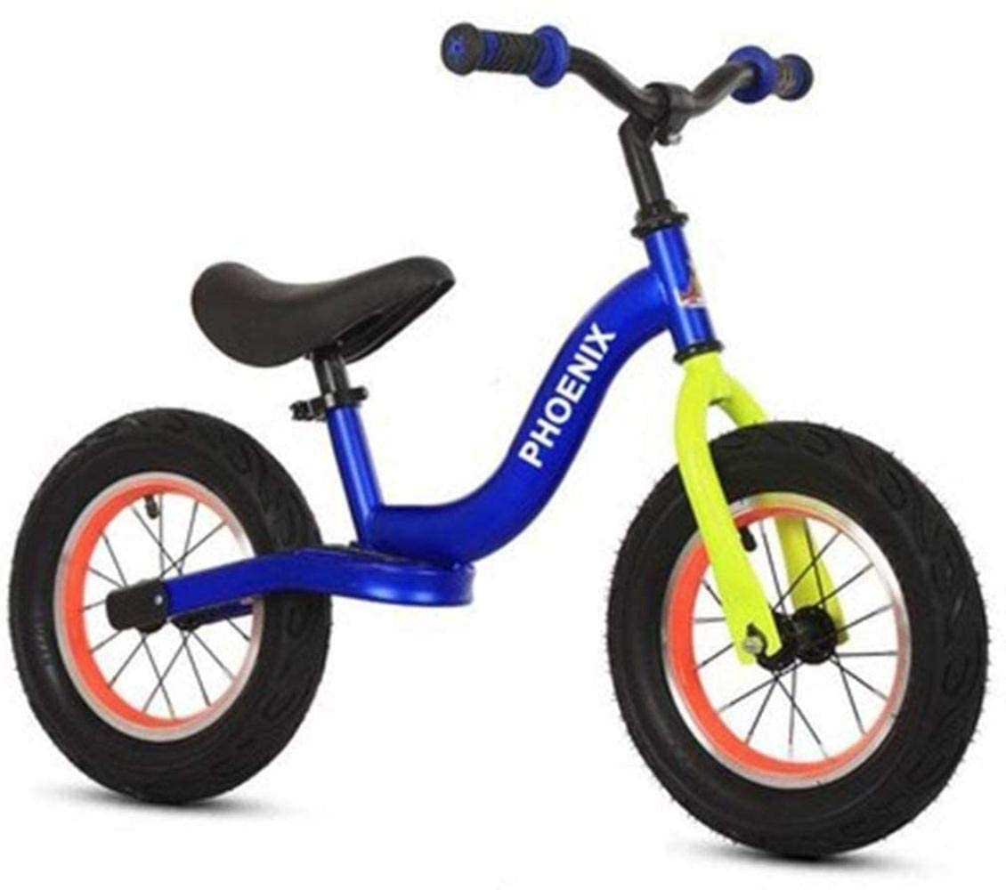 CSS Children Bicycle Balance Bike,Walking Training Bicycle for Boys Girls Kids and Toddlers 2-6 Years Old Childrens Toy, No Pedal,Adjustable Seat 7-4