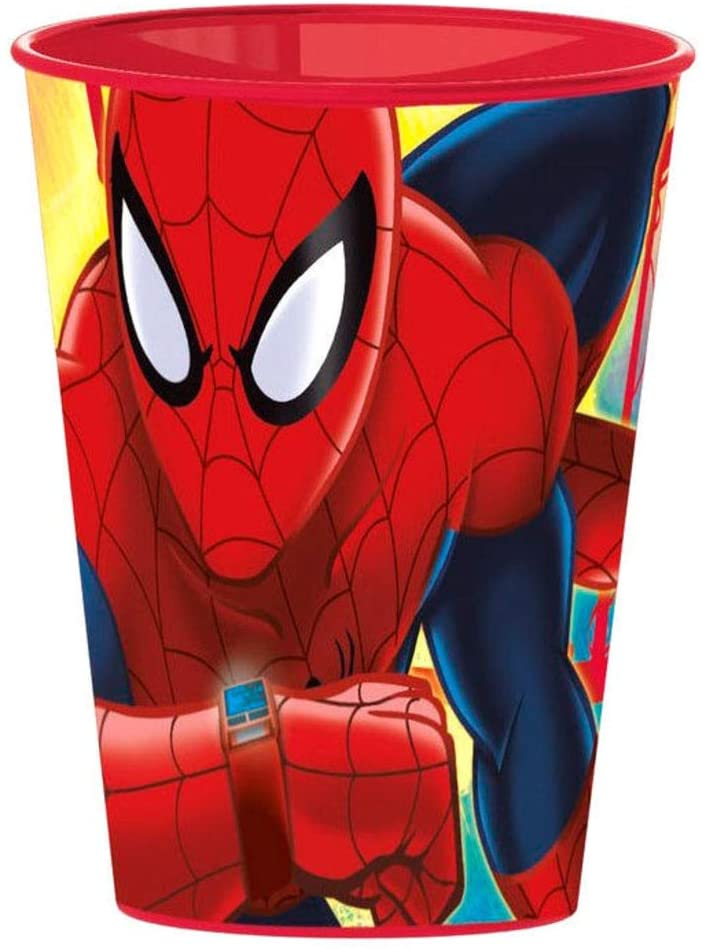character Marvel Spiderman Pack 4 Plastic Cup 260ml