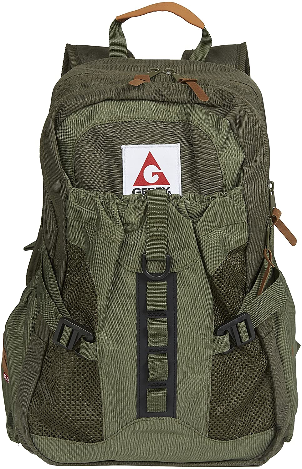 Gerry Outdoors - Thornton Zip Top Multi Compartment Backpack, Olive