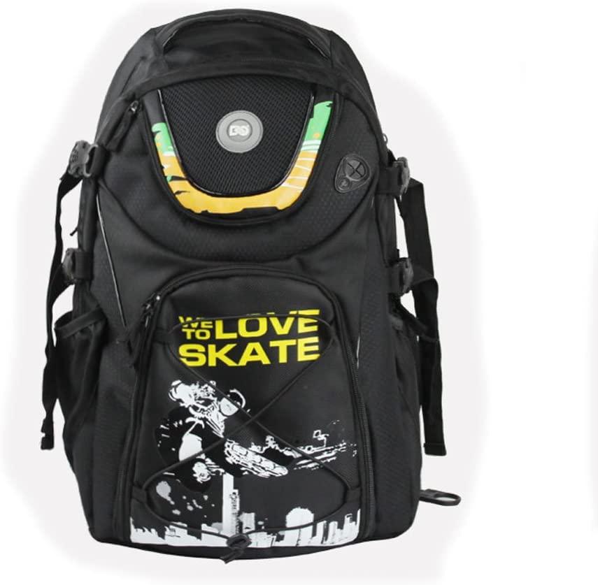 Xiami Leyuan Professional Quad Roller Skate Inline Skates Travel Backpack