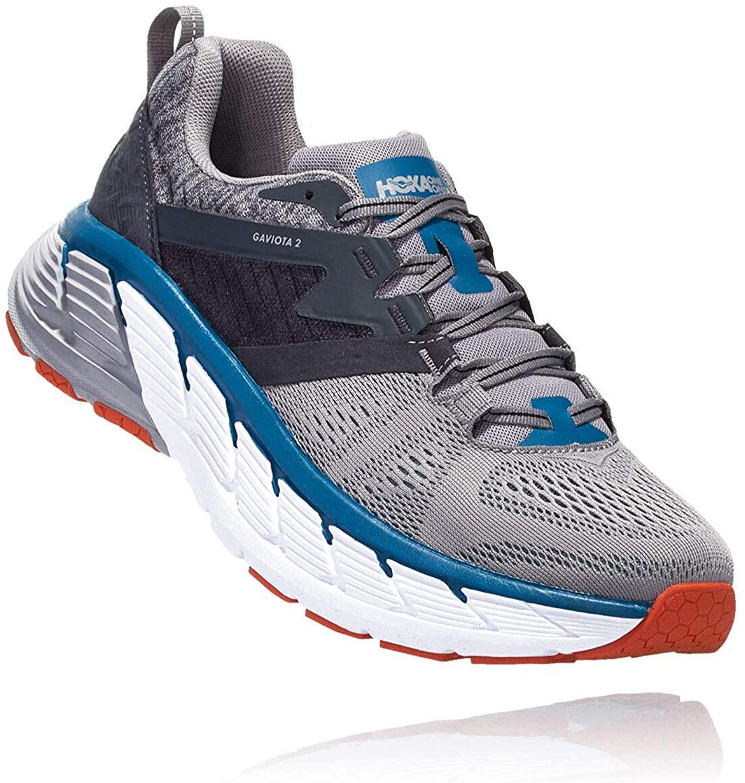 Hoka 1099629-FGSR: Men's Gaviota 2 Gray Frost/Seaport Running Shoe (9 D(M) US Men)