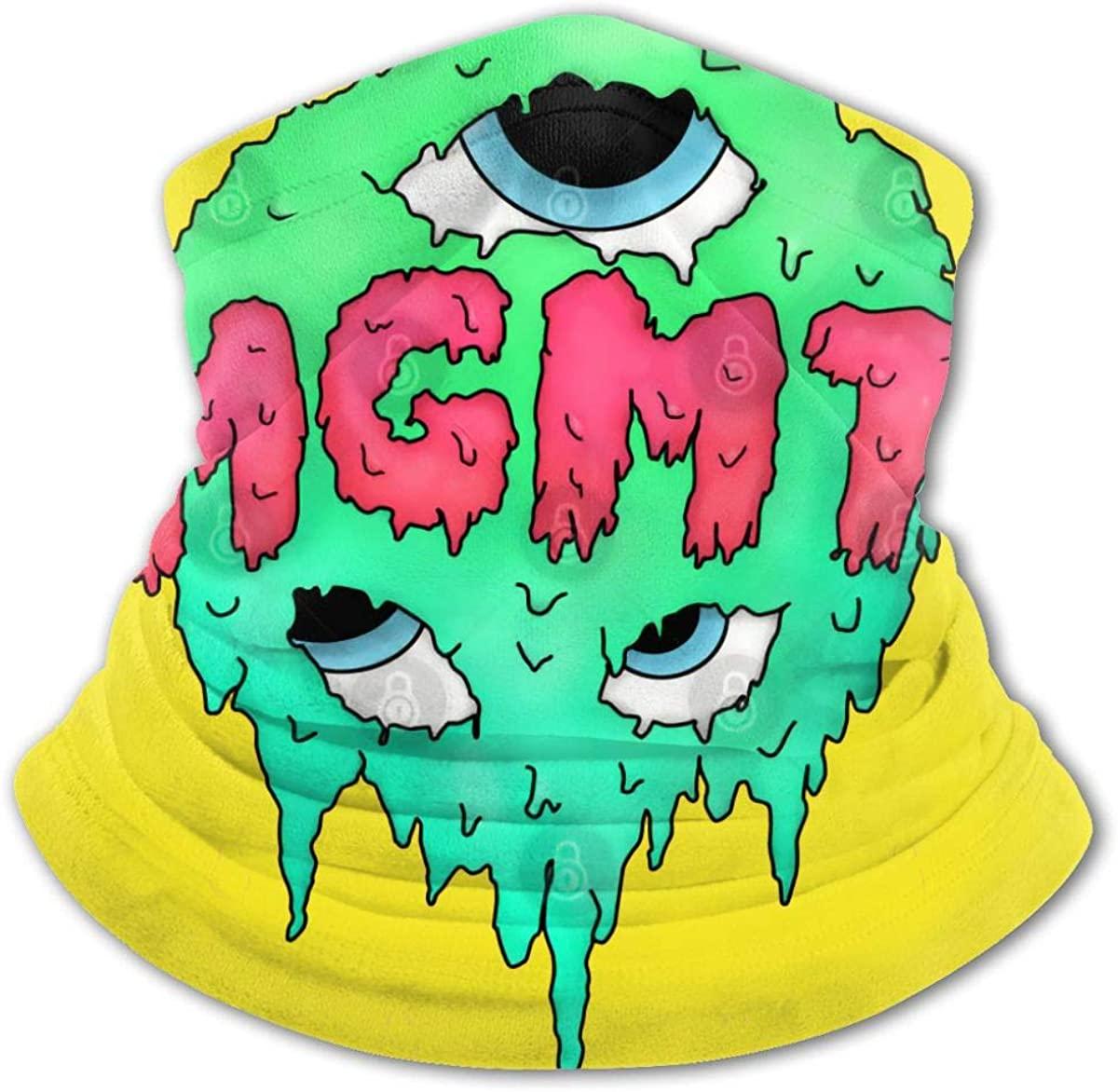 MGMT Face Mask Balaclava Protection from Dust, Uv & Aerosols - Reusable Bandana Face Cover Black