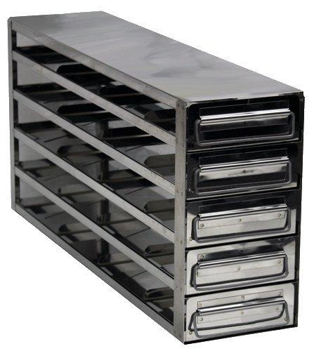 Labrepco LAB-452-UD Upright Freezer Drawer Racks (Stainless Steel)