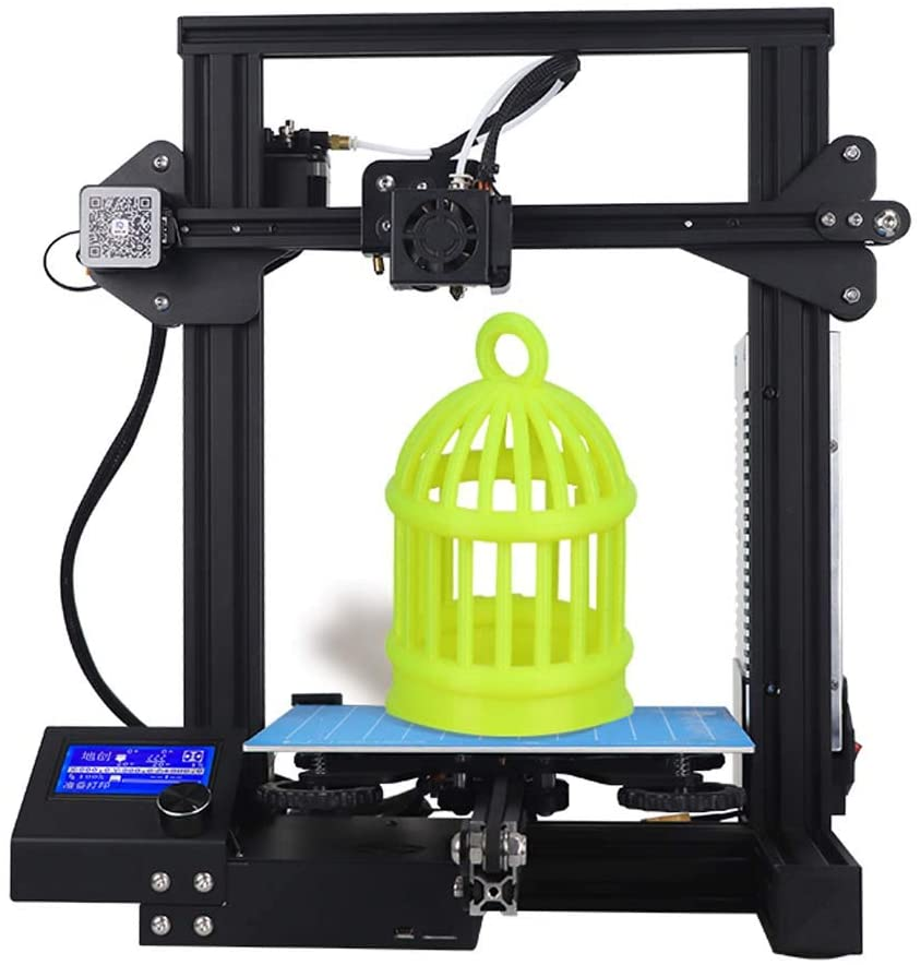 CREALITY 3D Printer New Version, with Magnetic Build Surface & CE Safety Compliance Testing Equipment, Resume Print 220 × 220 × 250Mm Quick Assembly Kit