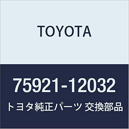 TOYOTA Genuine 75921-12032 Blackout Tape