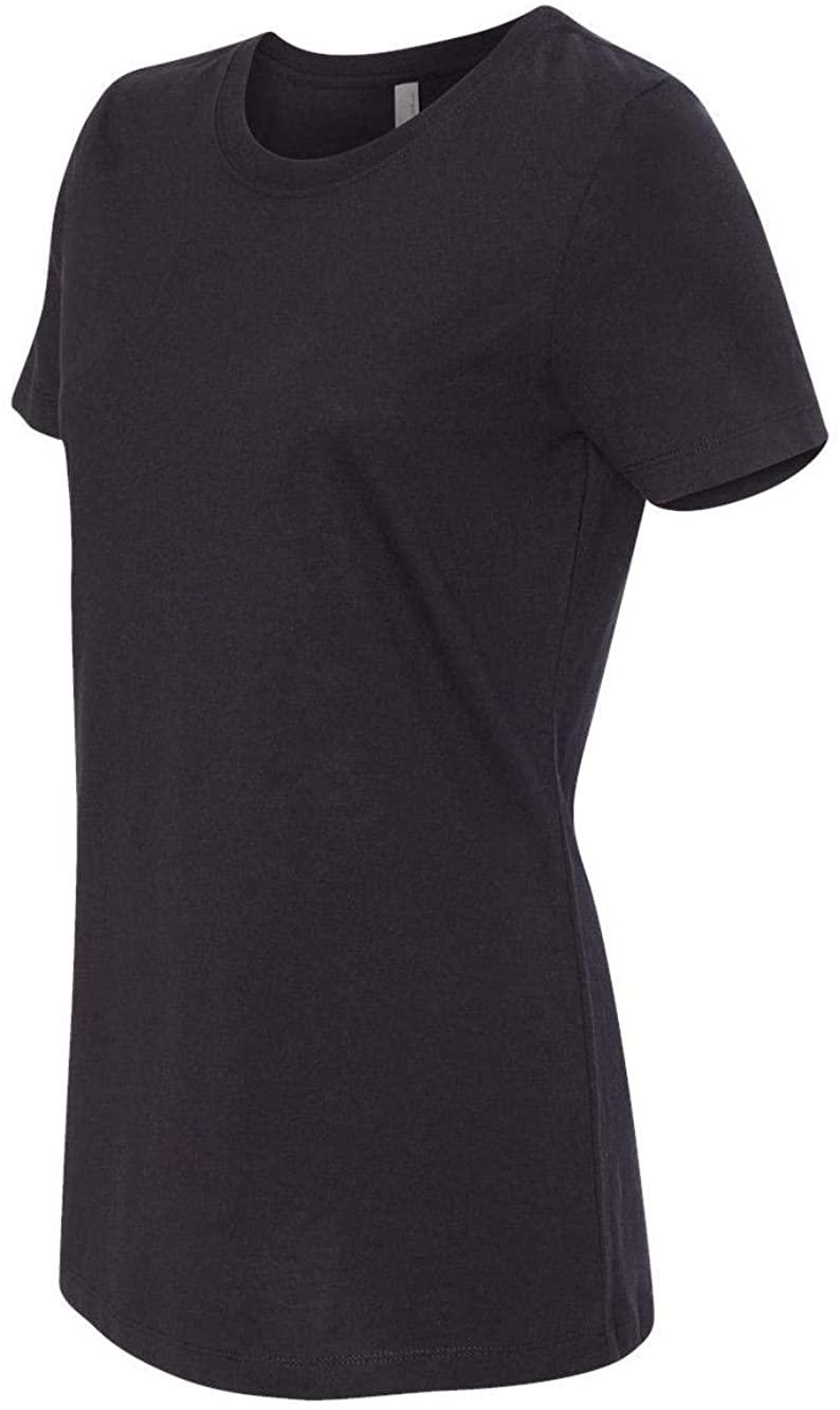 Next Level Womens Ideal Short-Sleeve Crew Tee (N1510) Black m