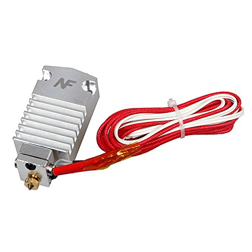 2017 Newest Design Cyclops Extruder 2 in 1 Out 2 Colors Hotend Bowden Extruder Compatible with Titan Extruder, Bulldog extruder, 1.75mm