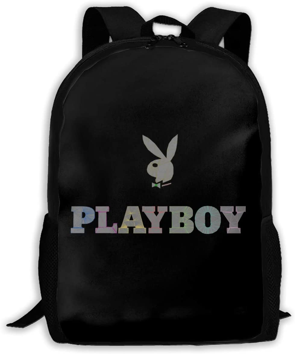 Playboy Unisex Backpacks, Backpacks, Pocket Canvas, Bags, Travel Bags. (Without Pockets)