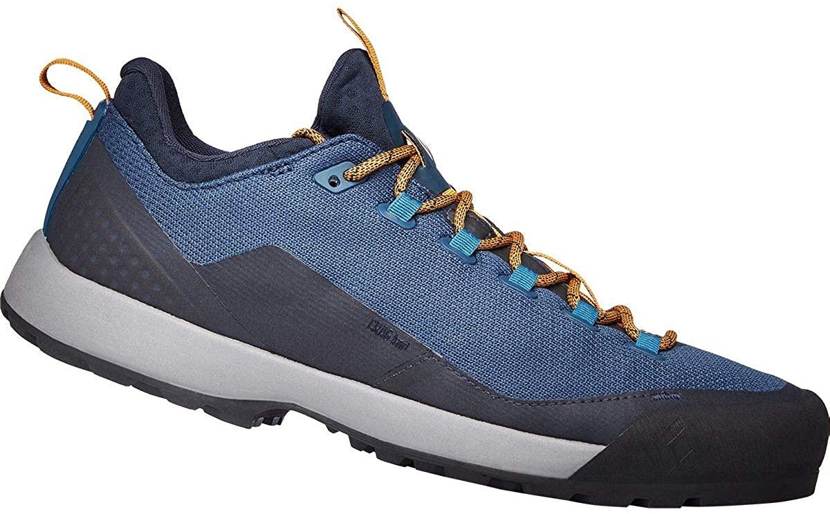 Black Diamond Men's Mission Lt Approach Shoes - Eclipse Blue-amber - 8