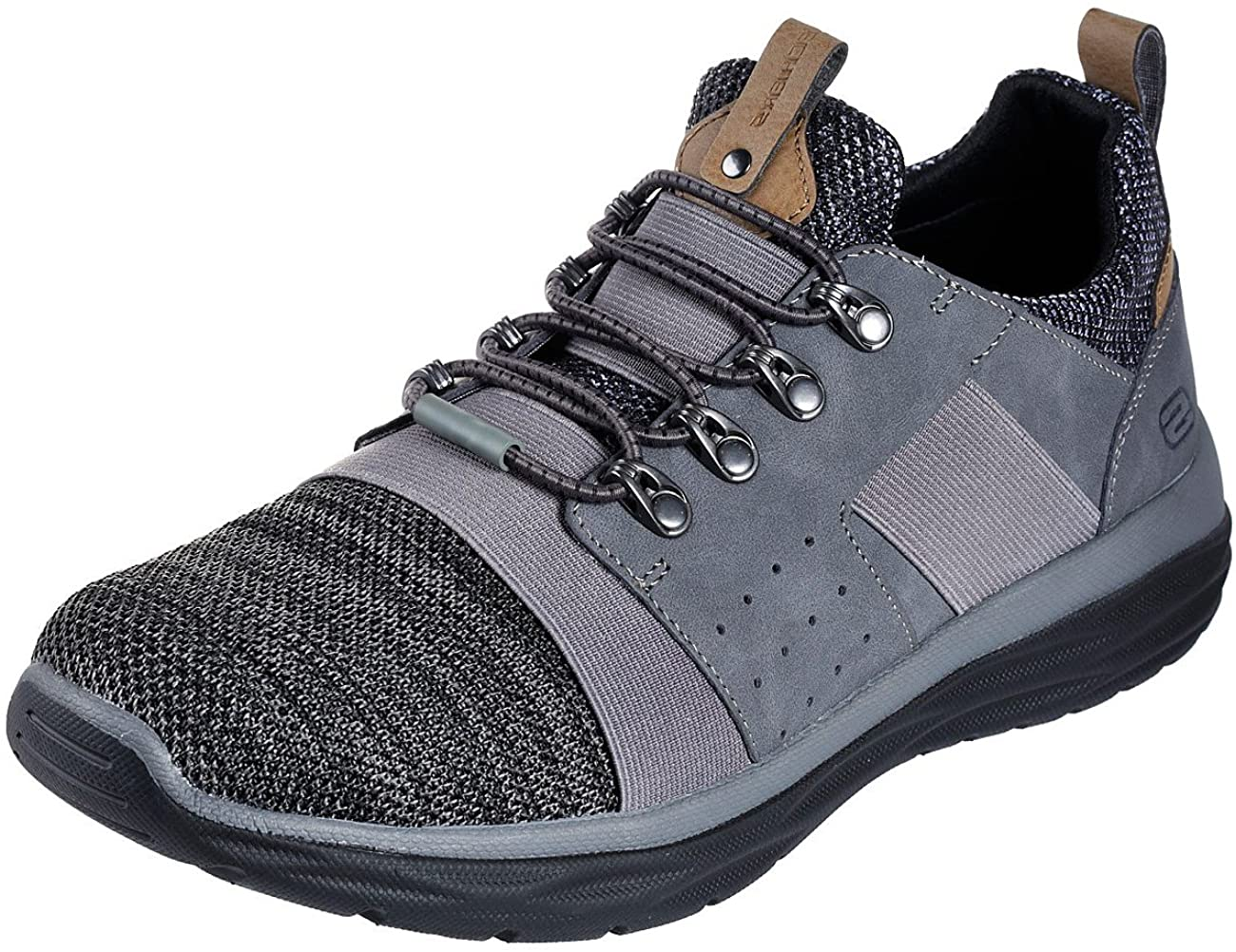 Skechers 65607 Men's Harsen-Arsego Sneaker, Charcoal - 11 D(M) US