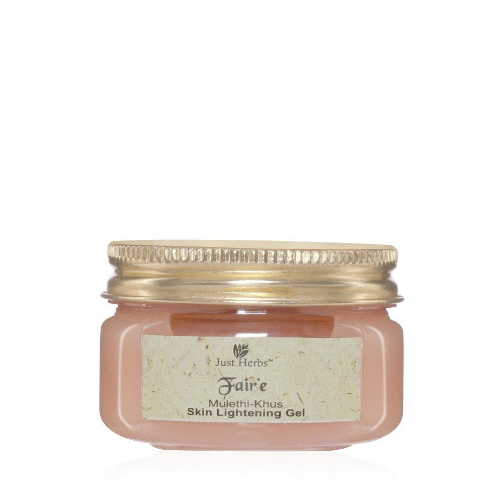 Just Herbs - Fair'e Mulethi-Khus Skin Lightening Gel - 50g