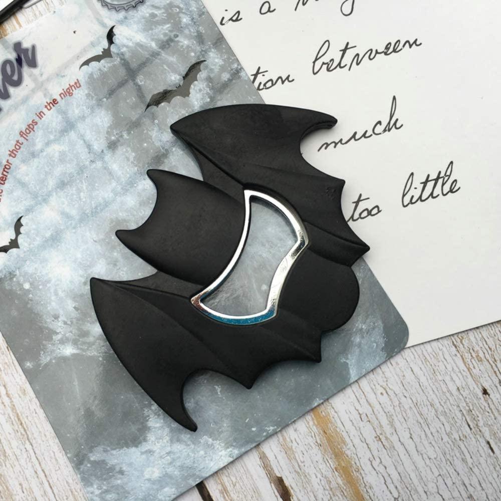 Batman Bottle Opener Fridge magnet,Beer Bottle Openers,Rubber Coated, Stainless Steel.