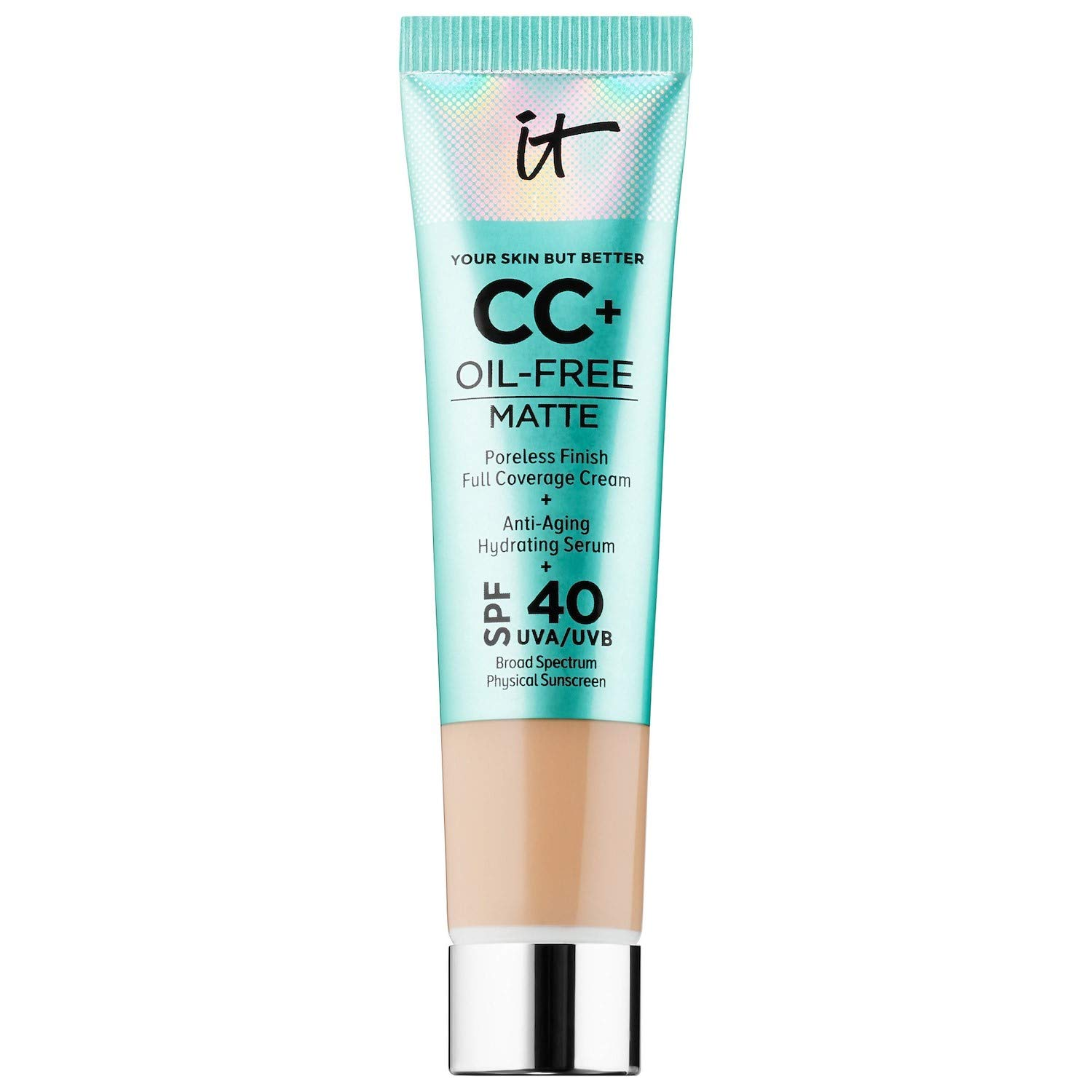 It Cosmetics CC Cream Your Skin But Better Oil Free Matte Light (New Matte Finish)
