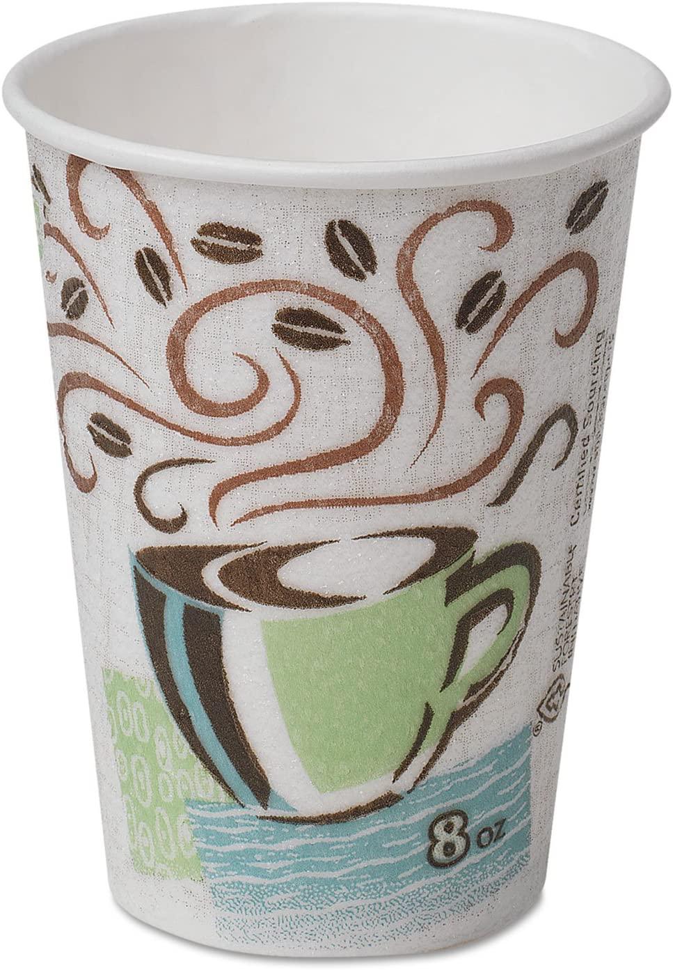 Dixie PerfecTouch Hot Cup - 8oz - 1000 / Carton
