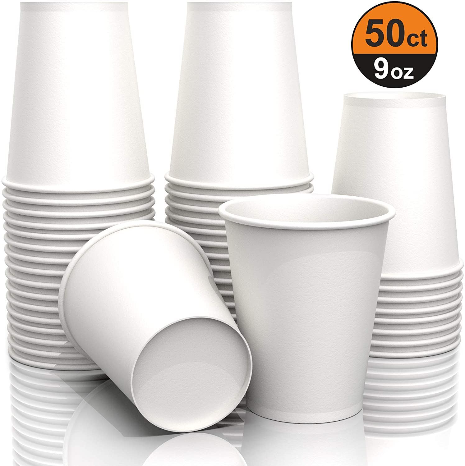 9 oz Paper Cups - Disposable Paper Cups