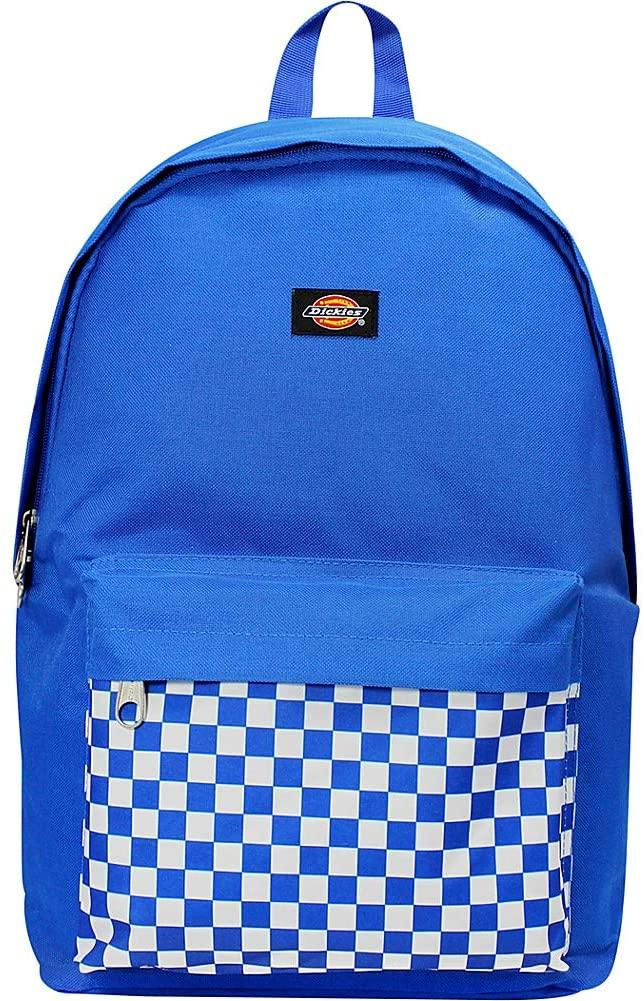 Dickies The Prep Backpack (Royal/White checkerboard)