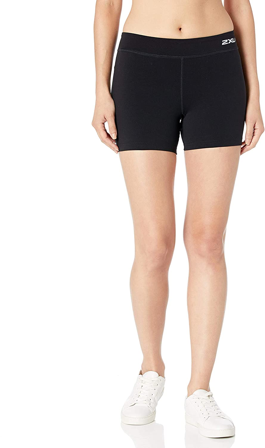 2XU Women's Fitness Compression 4 Inch Shorts
