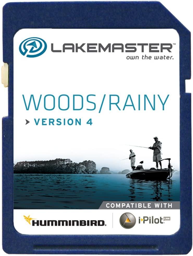 Humminbird 600027-1 Electronic Chart, Woods/Rainy