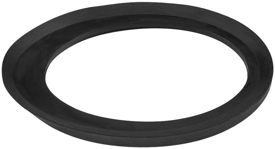 Qiilu Car Aerial Rubber Gasket, Car Roof Antenna Base Rubber Gasket Seal for Vauxhall Opel Astra Corsa Black