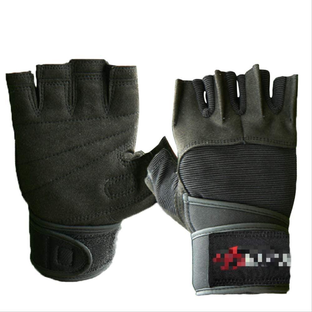 daizi Fitness Gloves Men's Half-Finger Sports Gloves Anti-Slip Breathable Sheath