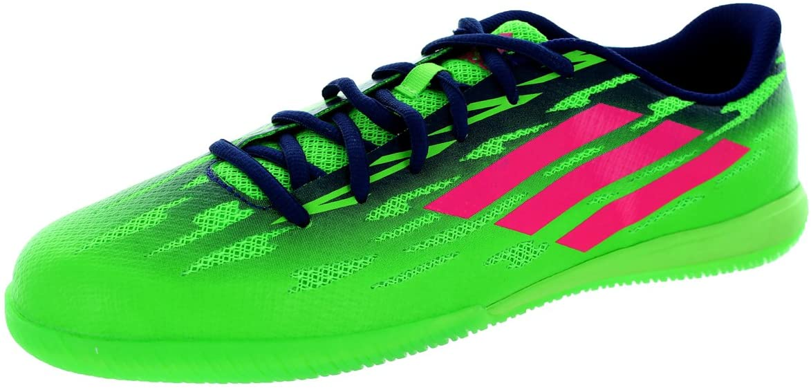 Adidas Mens FF Speedtrick Sgreen/Sopink/Amapur Indoor Soccer Shoe 11 Men US