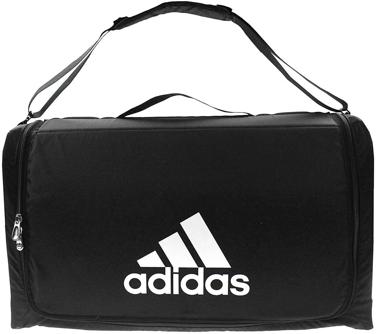 Adidas Structured Large Shoulder Travel Bag Carry On Weekender