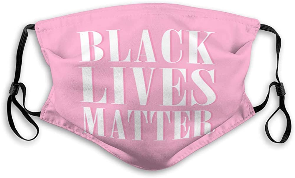 Anti Breathing Shield Black Lives Matter Polyester Covers