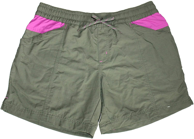 Columbia Women's Walnut Color Blocked Omni Shade Shorts