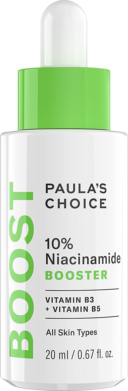 Paula's Choice BOOST 10% Niacinamide Booster, Vitamin B3, Vitamin C & Licorice Extract Serum, Pore Minimizer, 0.67 Ounce