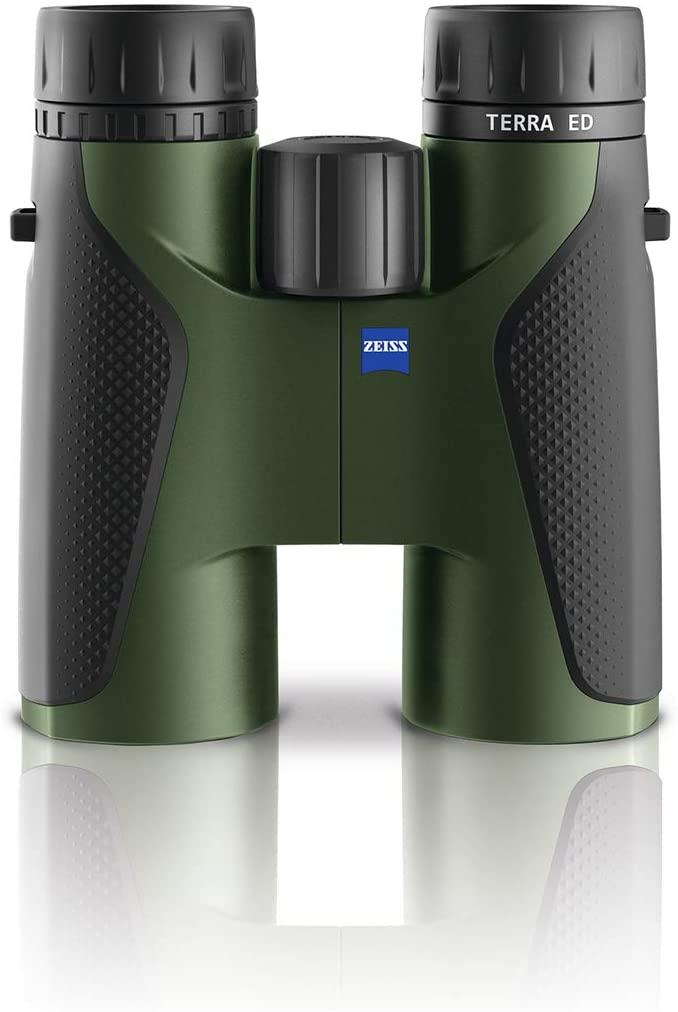 Zeiss Terra ED 10x42 Binoculars for Hunting, Birdwatching, Outdoor, Traveling, Green