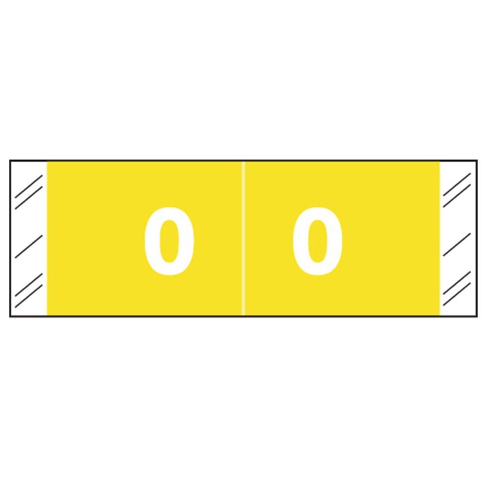 COL-R-TAB COMPATIBLE 59709538 11850 Permanent Color Code Label, Mylar, Numeric,