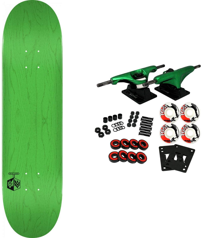 Mini-Logo Skateboard Complete K20 Chevron Detonator Green 8.25 x 31.95