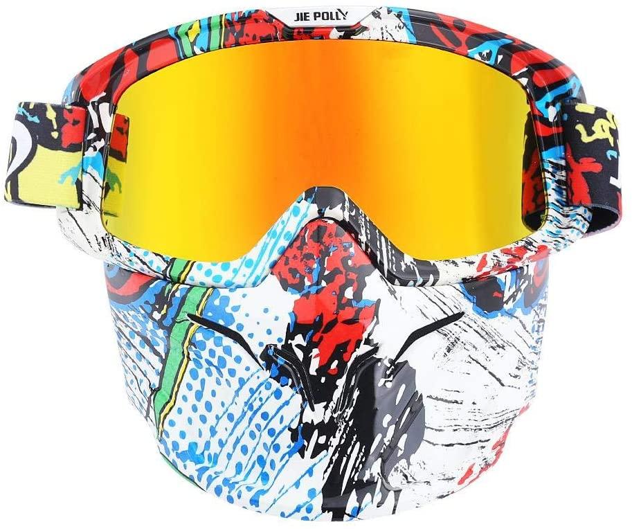 Home bathroom products Motocross Goggles, Motocross Goggles, Retro Goggles, Helmet Windproof, A03 Color Film