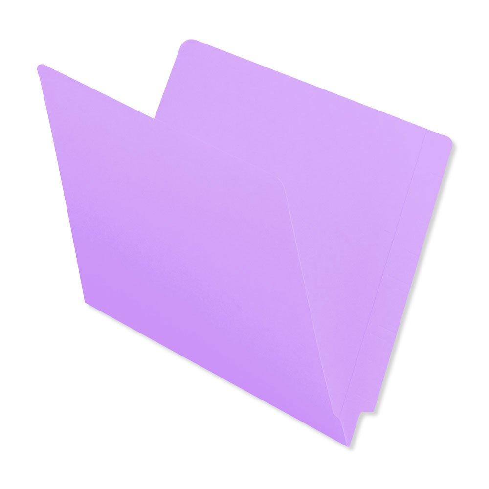 BARKLEY MATCH ETF226BLV End Tab Folder, 2-ply, No FAS, 11Pt Color Stock, Flush Front, 12 1/4