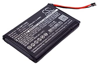 1200mAh Battery Replacement for Garmin T 5 Mini, TT 15 Mini, P/N 010-11828-40, 351-00035-09