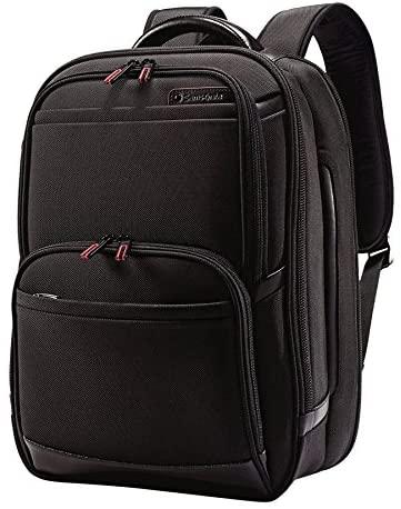 Samsonite Pro 4 DLX Urban TSA Backpack, Black, One Size