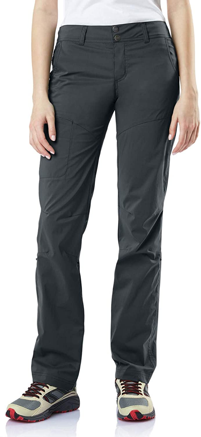 CQR Women's Hiking Pants, Quick Dry Stretch UPF 50+ Sun Protective Outdoor Pants, Lightweight Camping Work Pant