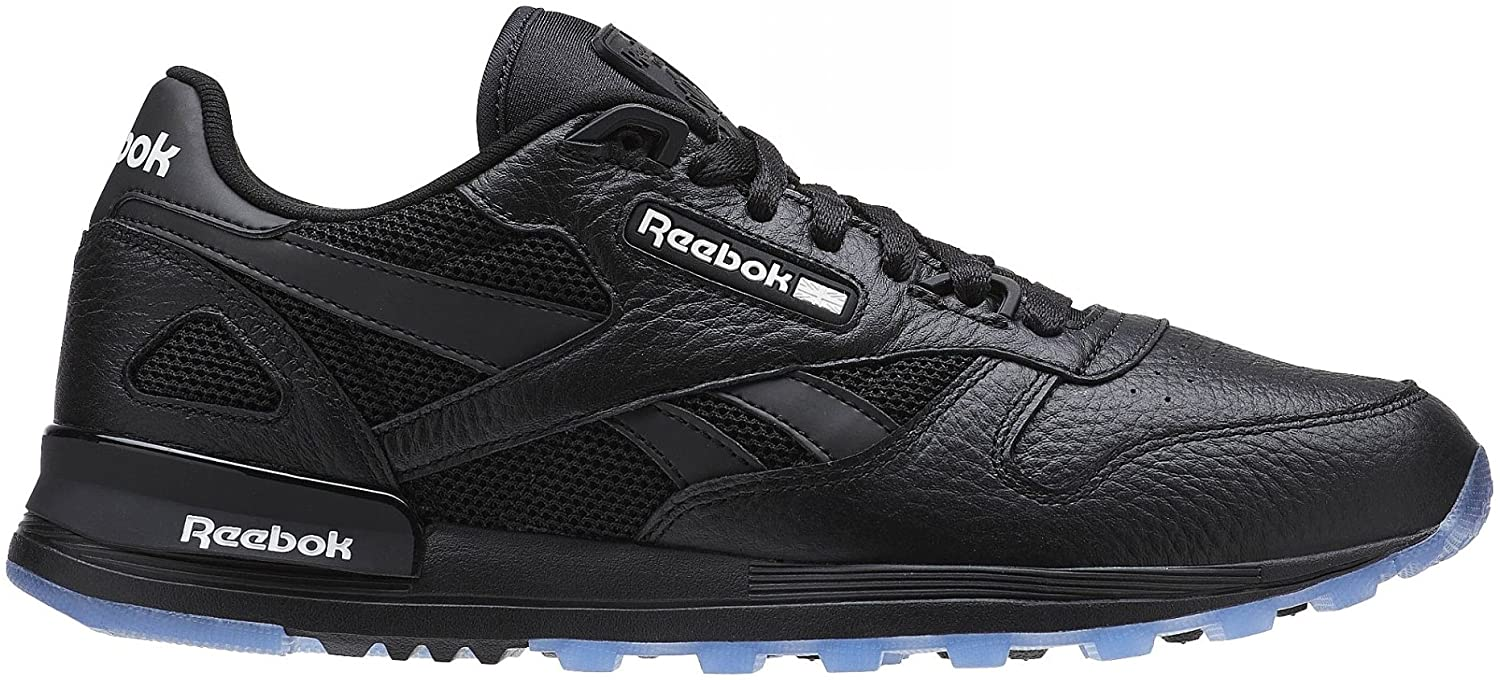 Reebok CL Leather 2.0 Black/White Running, Cross Training Mens Athletic Shoes Size