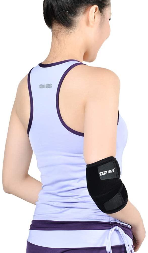 LIBWX Elbow Support - Multi Zone Compression, Lightweight, Breathable, Tennis/Golfers Elbow - Unisex Brace