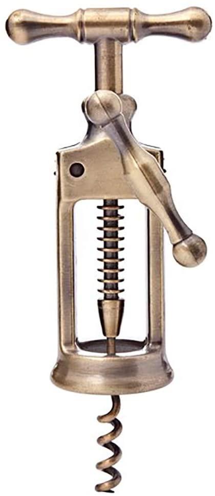 Rack & Pinion Corkscrew —Antique Replica cork remover