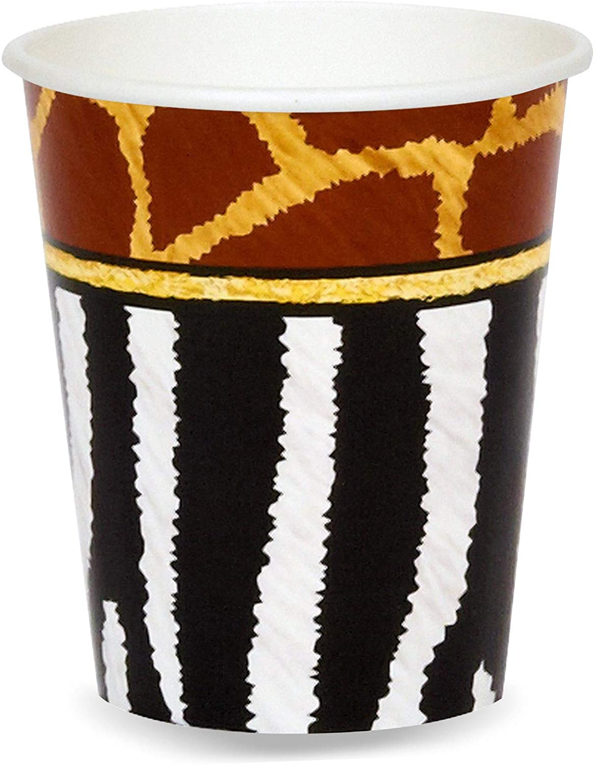 Birthday Express Safari Animal Adventure Party 9 oz. Paper Cups (8)