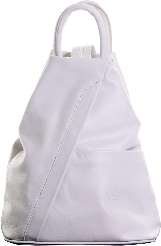 Primo Sacchi Italian Soft Napa Leather Shoulder Bag Rucksack Backpack Purse