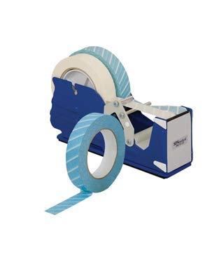 MHC MEDICAL BT-048 Blue Steam Indicator Tape, 3/4