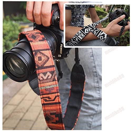 Jia Jia Trade Camera Shoulder Neck Strap Vintage Belt for All DSLR Camera Nikon Canon Sony Pentax Etc