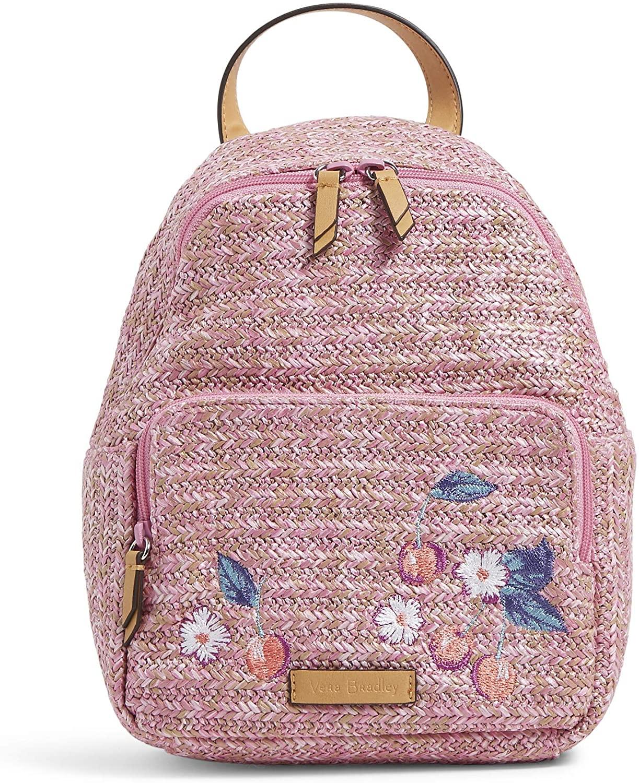 Vera Bradley Women's Straw Backpack