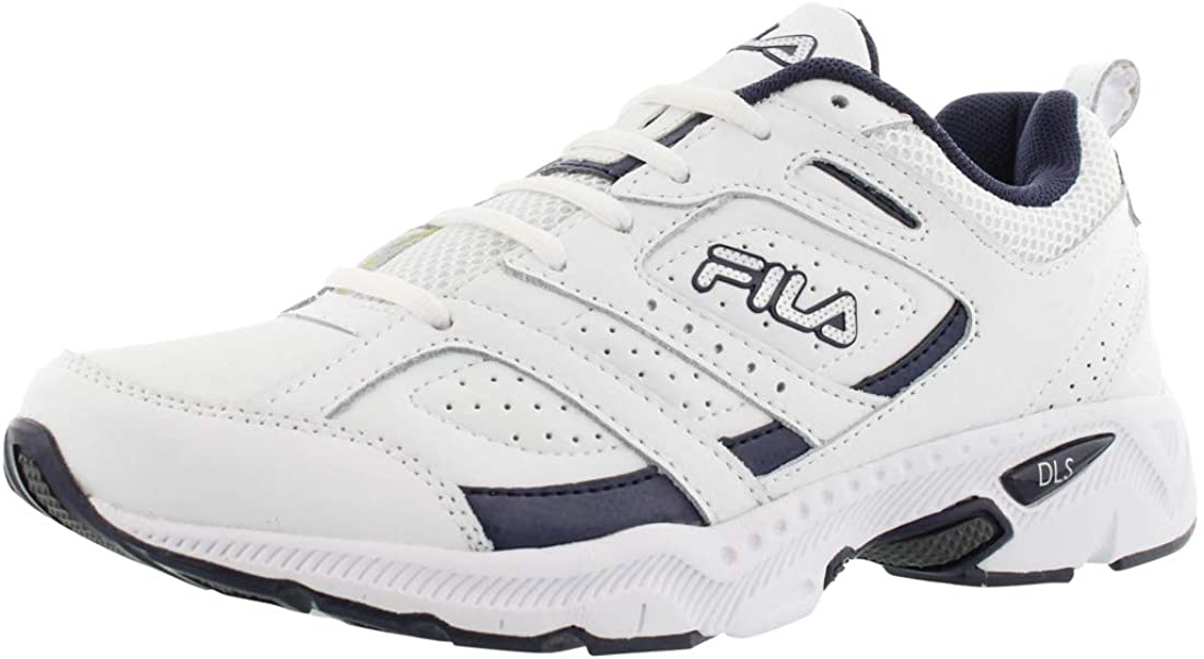 Fila Fortifier Mens Shoes Size 11.5, Color: White/Silver/Navy
