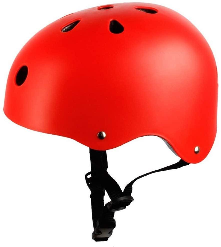 Slowoi Children Grownup Roller Skating Helmet Bicycle Riding Helmet Skateboard Skates Protective Gear Protection Helmet Men and Women