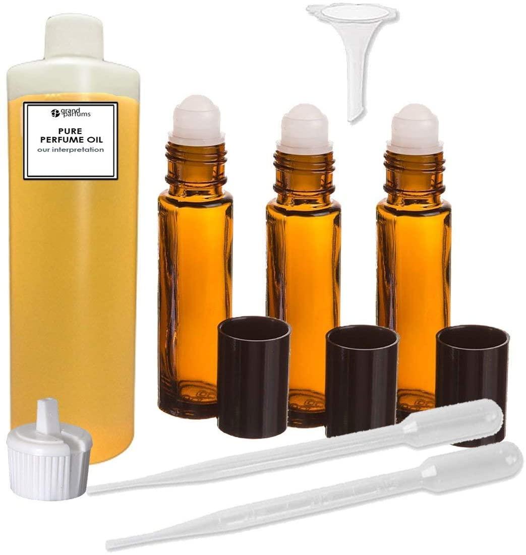 Grand Parfums Perfume Oil Set - Pink Sugar for Women, Our Interpretation, Highest Quality Perfume Oil (2 Ounces)