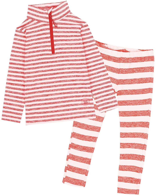 Deux par Deux Girls' 2-Piece Thermal Underwear Set, Sizes 2-14