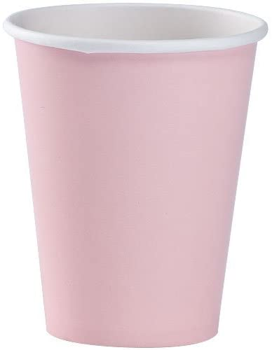 Party Dimensions 72682 12 Count Paper Cup, 9-Ounce, Pink